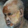 Portrait de Jean-Claude [Huile - 20 x 20]
