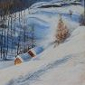 Vallée de Nevache [Acrylique - 60 x 50]