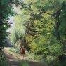 L'été - Promenade [Huile sur toile - 61 x 46]