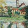 Sonchamp - Yvelines [Huile - 70 x 50]