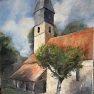 Clocher de Poigny-la-Forêt [Huile -]