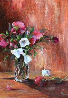 Bouquet et fleur délaissée
