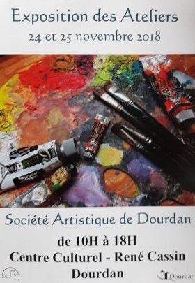 Expo des Ateliers Dourdan 2018