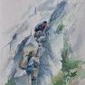 Via Ferrata [Aquarelle - 40 x 30]