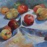 Pommes et coings - 1 [Etude - 30 x 40]