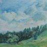 Etude de ciel - Jura [Acrylique - 30 x 40]