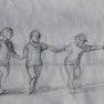 Croquis pour « Farandole » [Crayon]