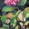 Hortensia Solo [Huile - 41 x 24]