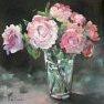Roses de septembre [Huile - 30 x 30]