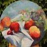 Ronde de pommes [Huile - diamètre 40]