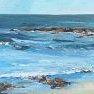 Etude de mer [Huile - 61 x 38]