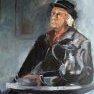 Roger à la cafetière [Etude - 65 x 54]