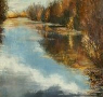 Reflets sur l'étang de Corbet